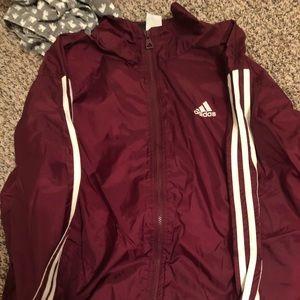 vintage oversized adidas jacket